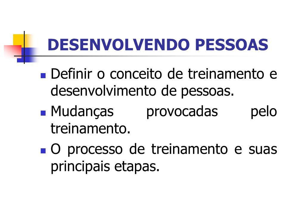 DESENVOLVENDO PESSOAS