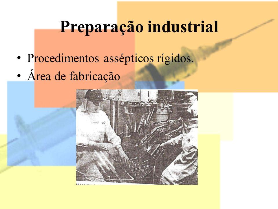 Preparação industrial
