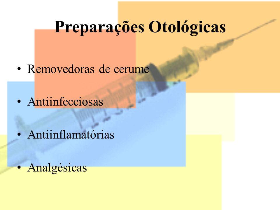 Preparações Otológicas