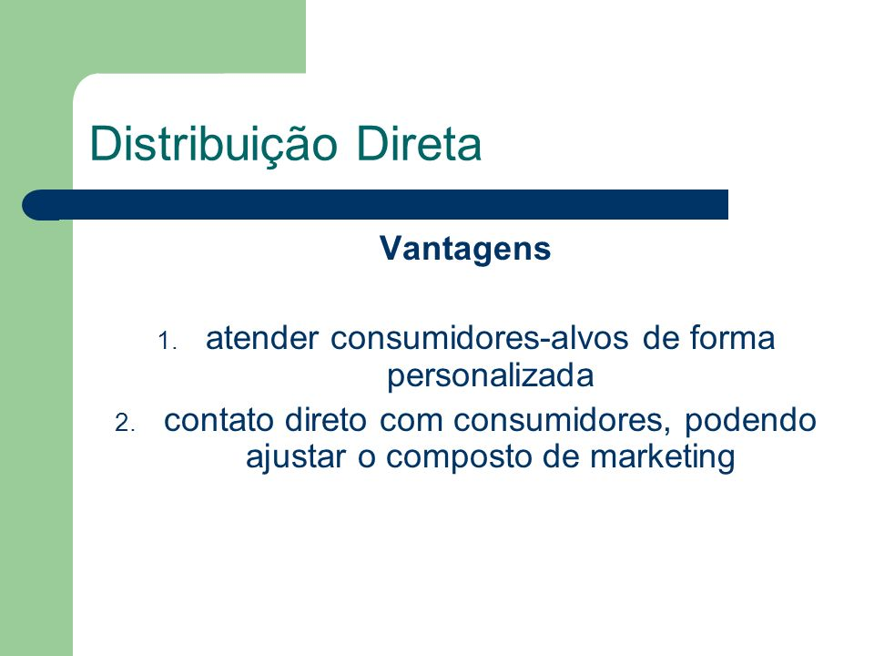 atender consumidores-alvos de forma personalizada