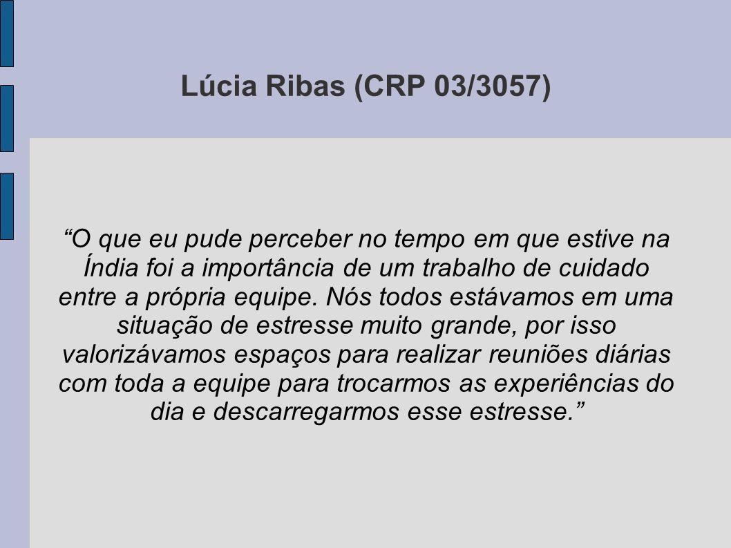 Lúcia Ribas (CRP 03/3057)