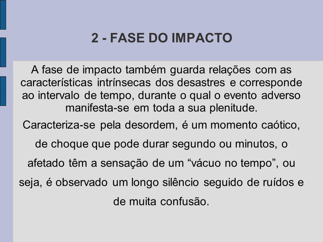 2 - FASE DO IMPACTO