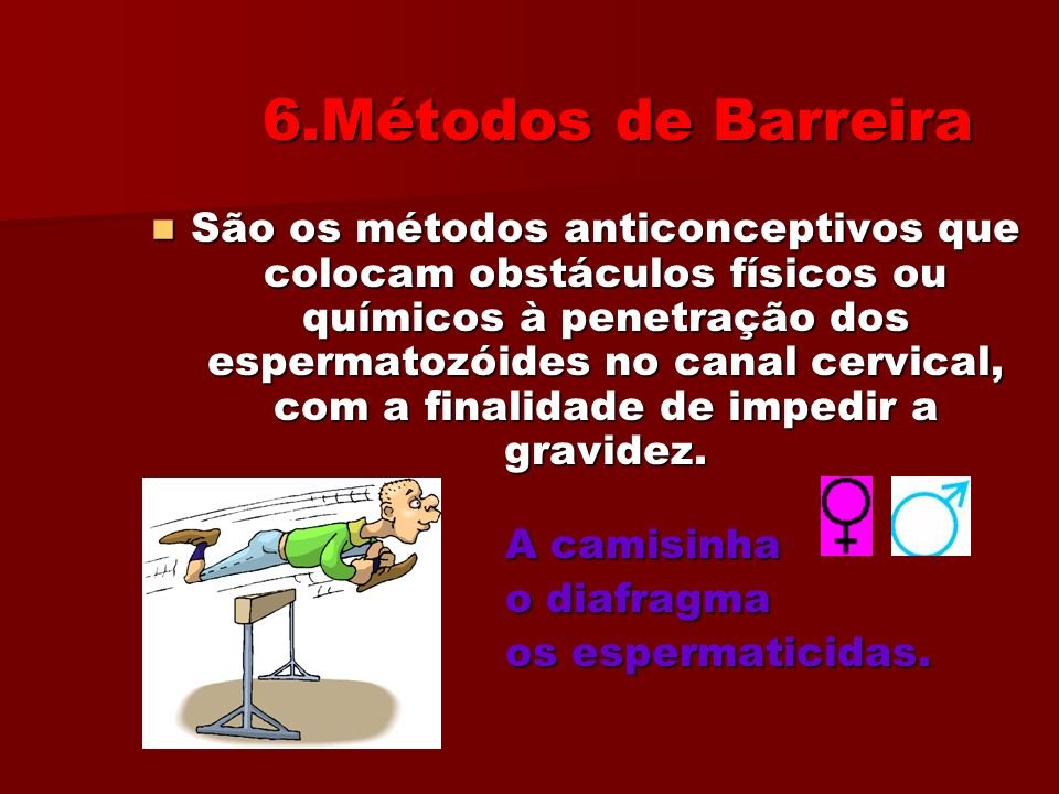 6.Métodos de Barreira