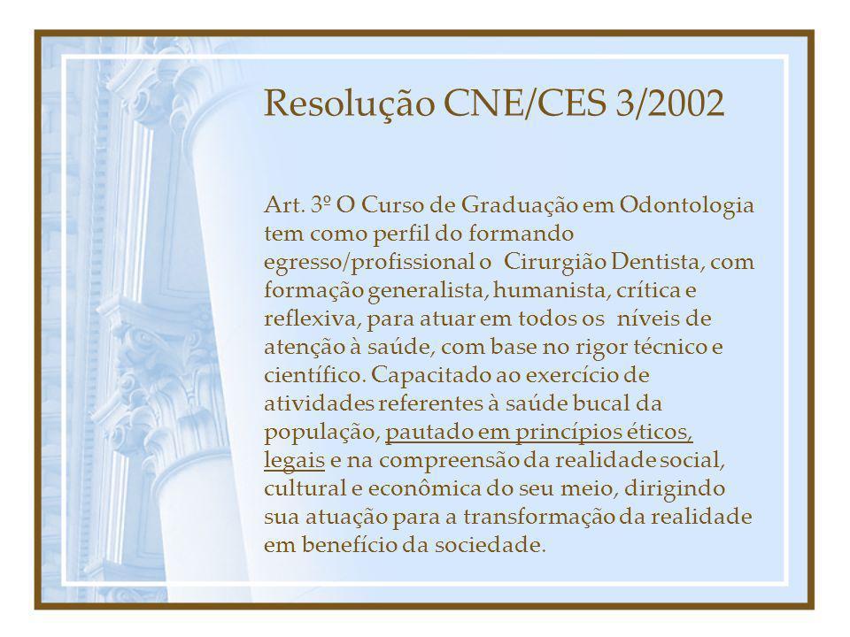 Resolução CNE/CES 3/2002