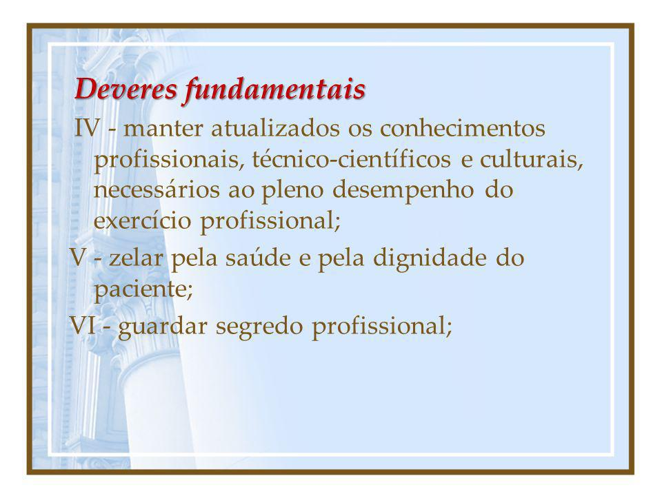 Deveres fundamentais