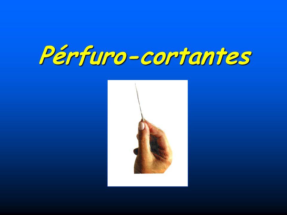 Pérfuro-cortantes