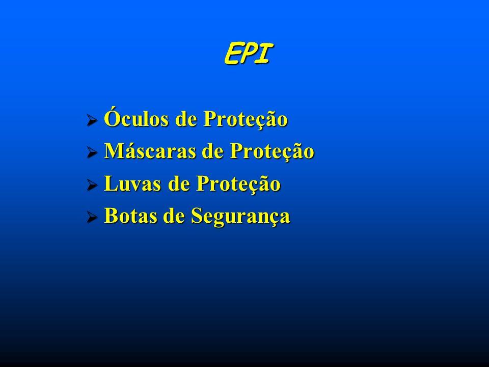EPI Óculos de Proteção Máscaras de Proteção Luvas de Proteção
