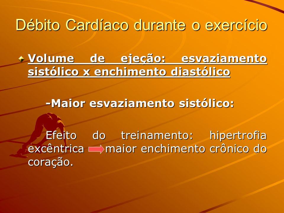 Débito Cardíaco durante o exercício