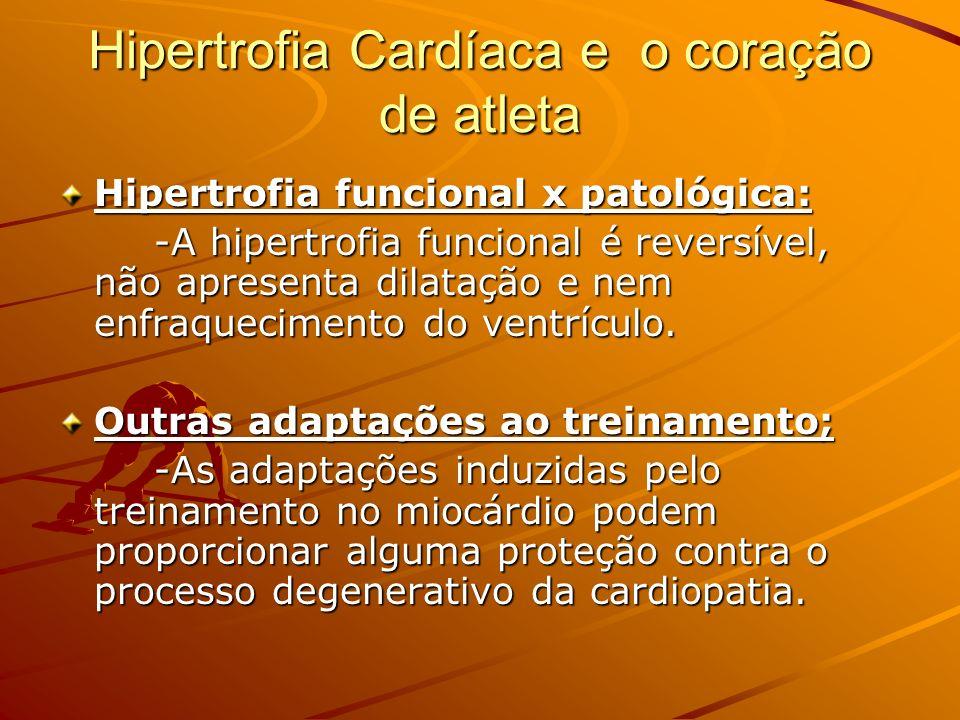 Hipertrofia Cardíaca e o coração de atleta
