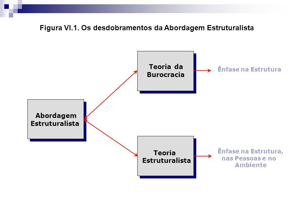 Figura VI.1. Os desdobramentos da Abordagem Estruturalista