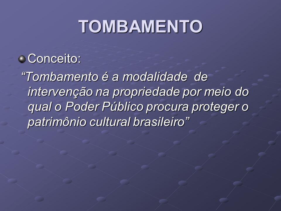 TOMBAMENTO Conceito: