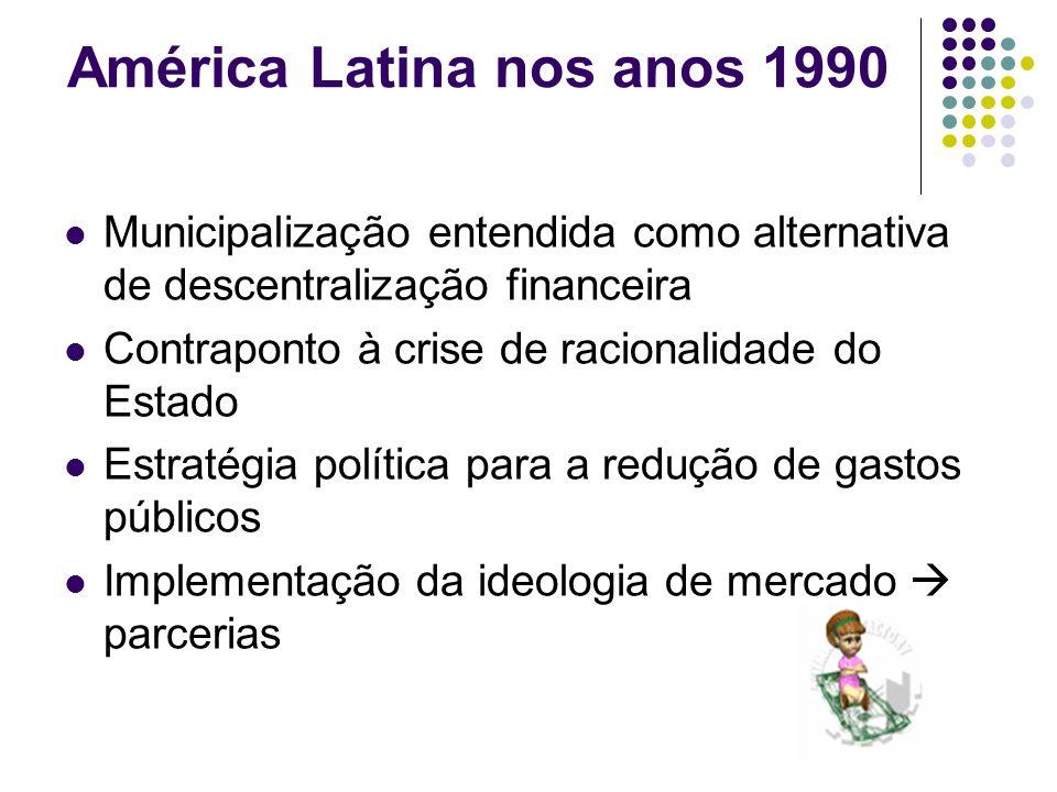 América Latina nos anos 1990