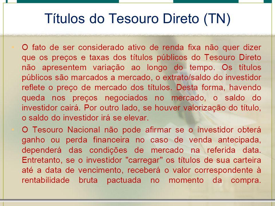 Títulos do Tesouro Direto (TN)