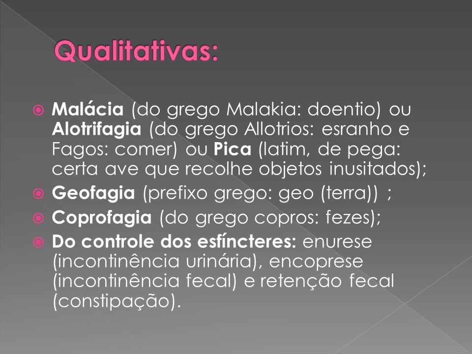 Qualitativas: