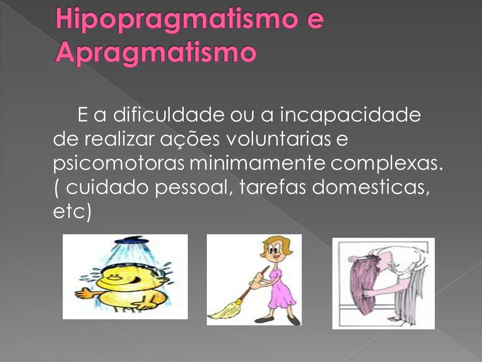 Hipopragmatismo e Apragmatismo
