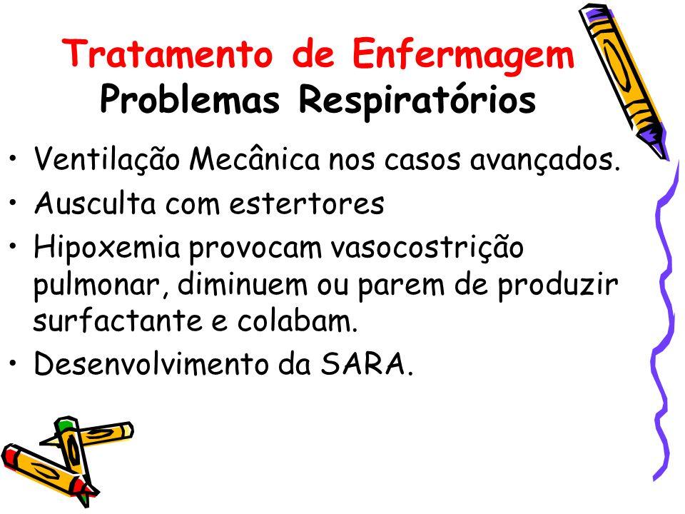 Tratamento de Enfermagem Problemas Respiratórios