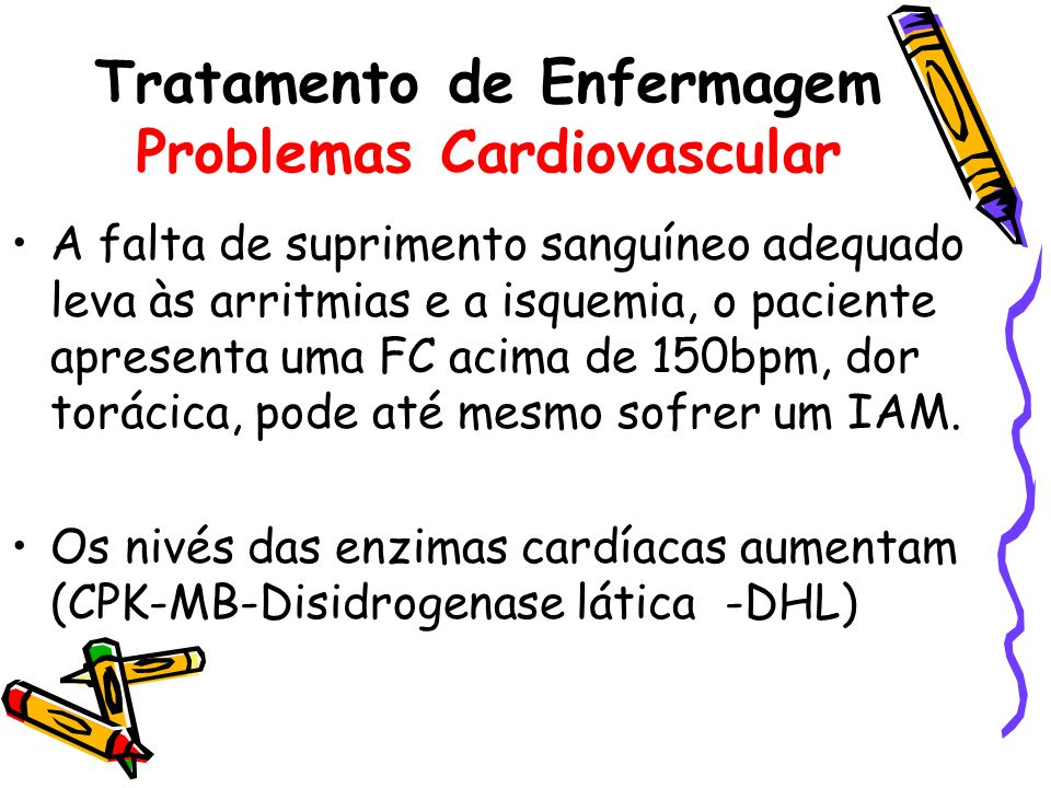 Tratamento de Enfermagem Problemas Cardiovascular