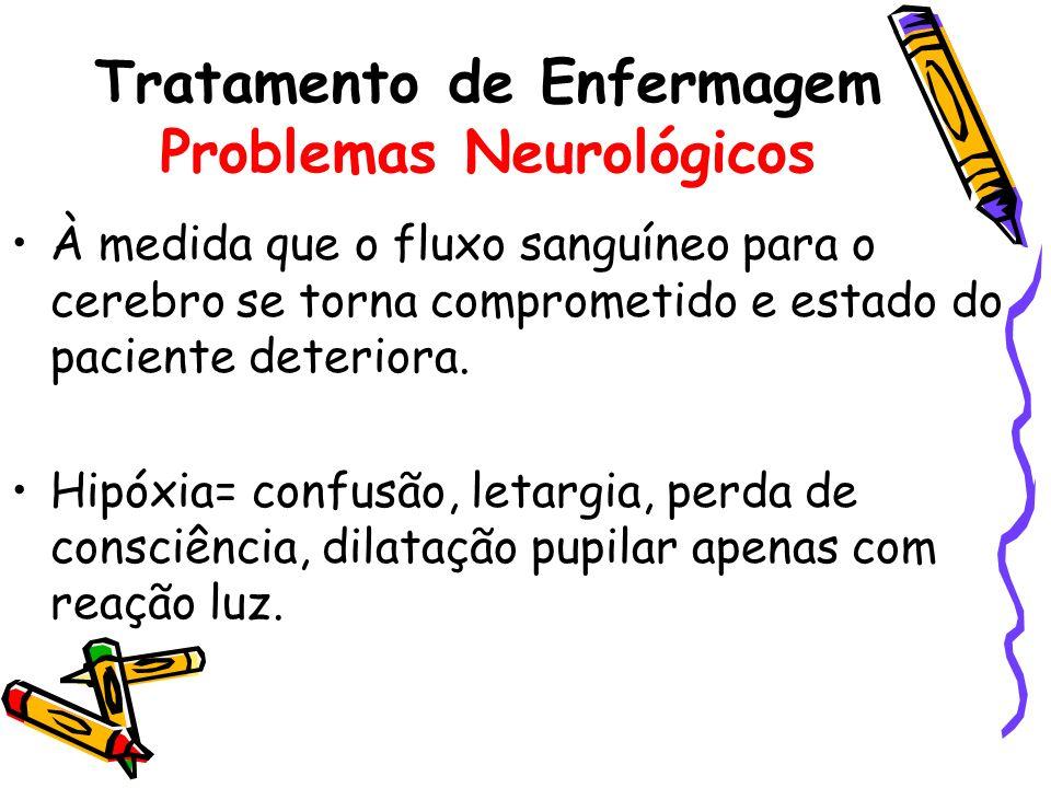 Tratamento de Enfermagem Problemas Neurológicos