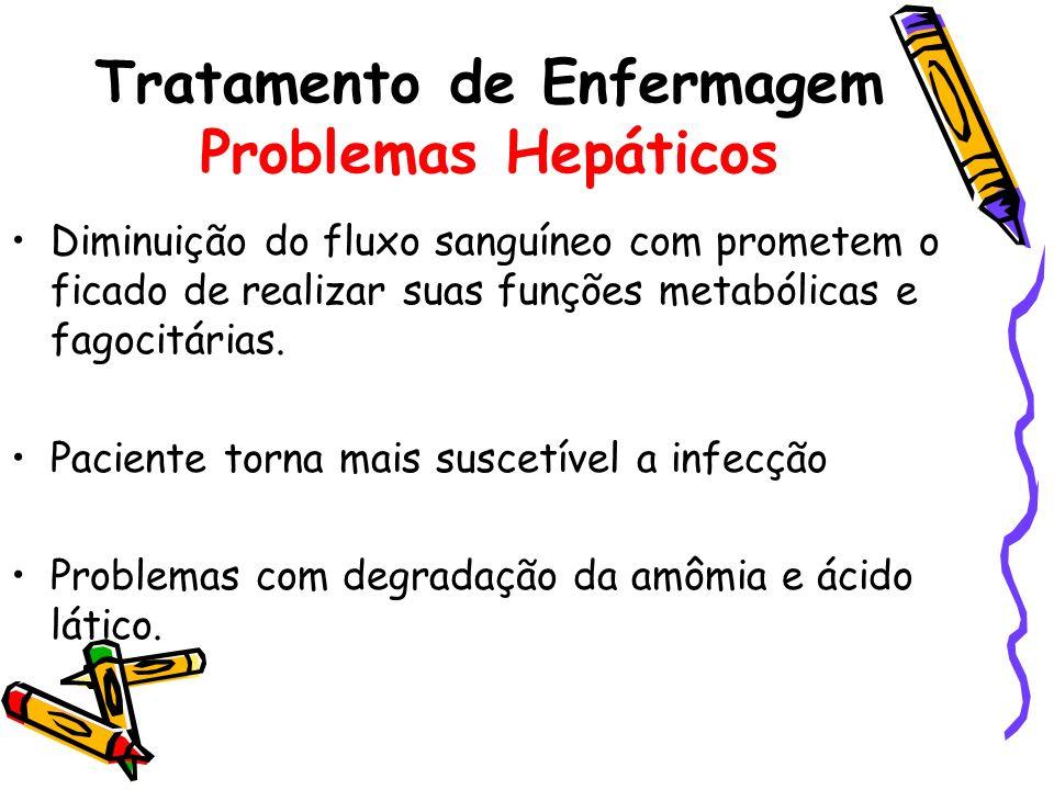 Tratamento de Enfermagem Problemas Hepáticos