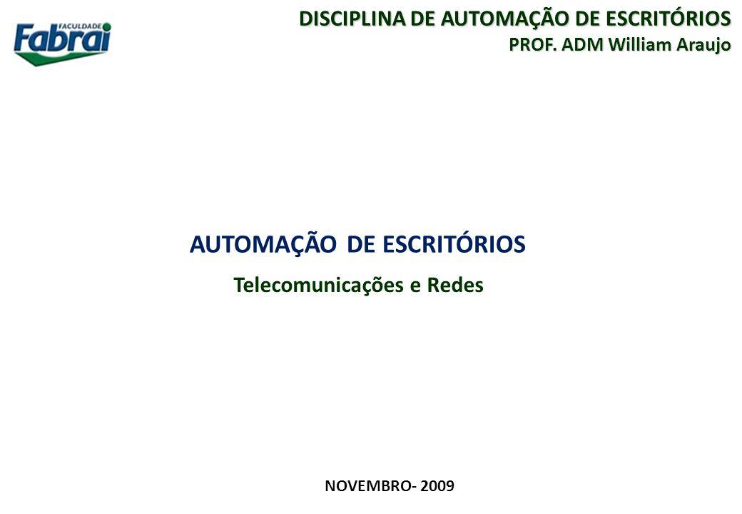 AUTOMAÇÃO DE ESCRITÓRIOS