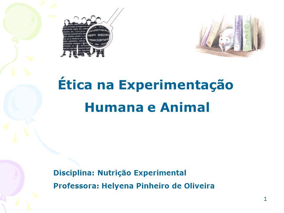 Ética na Experimentação