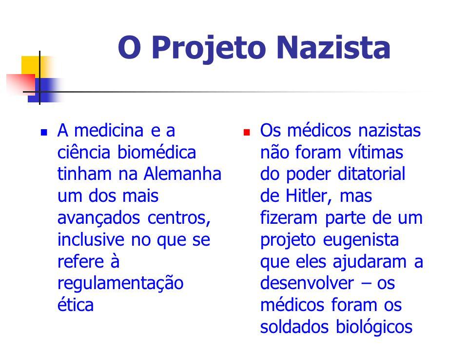 O Projeto Nazista