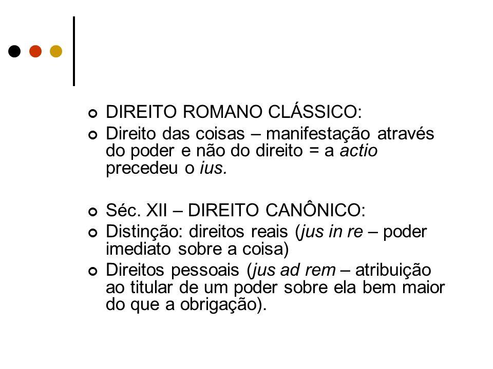 DIREITO ROMANO CLÁSSICO: