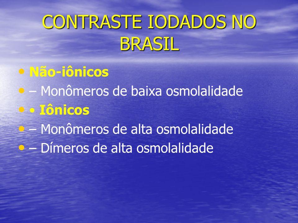 CONTRASTE IODADOS NO BRASIL