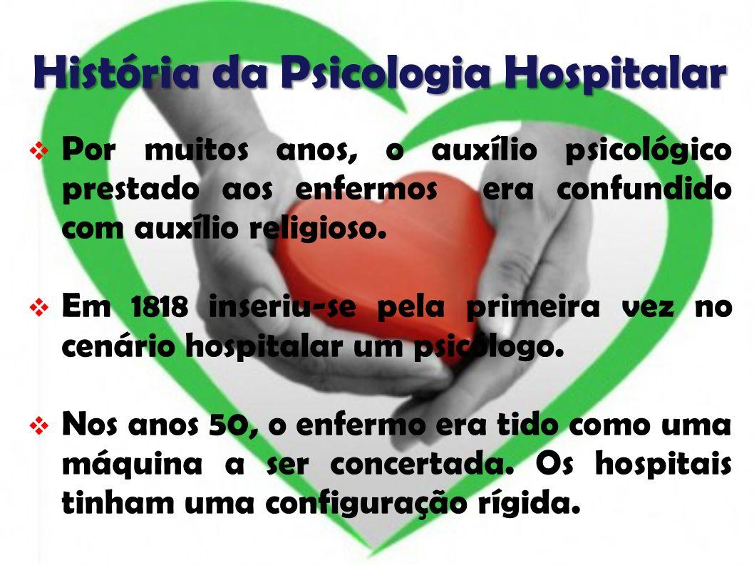 História da Psicologia Hospitalar