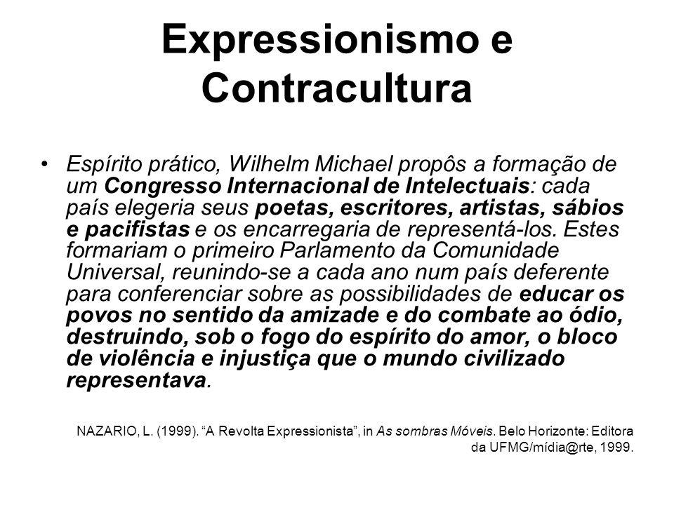 Expressionismo e Contracultura