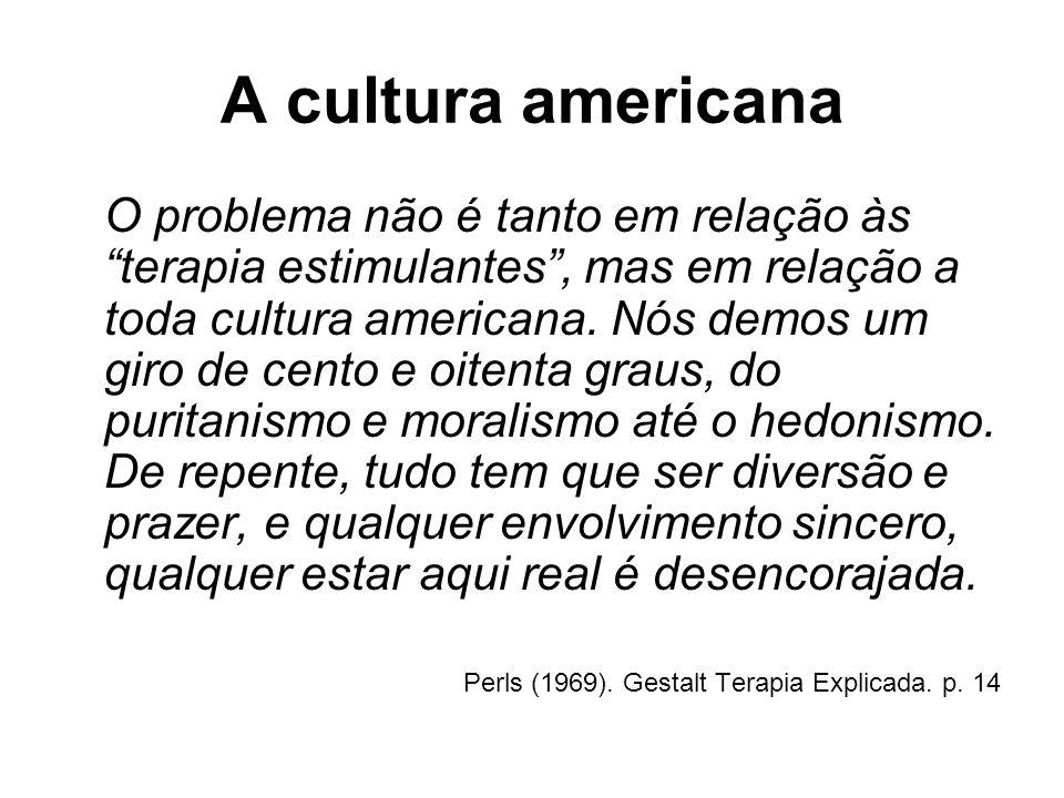 A cultura americana