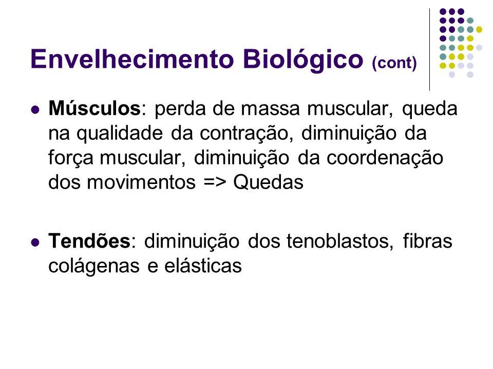 Envelhecimento Biológico (cont)