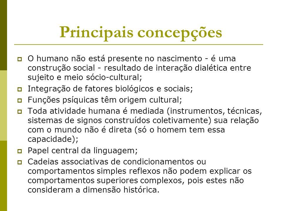 Principais concepções