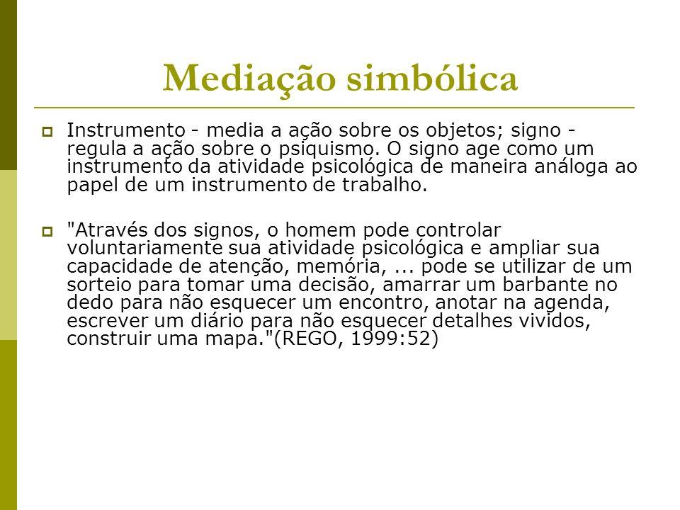 Mediação simbólica