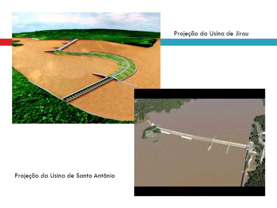 Projeção da Usina de Jirau