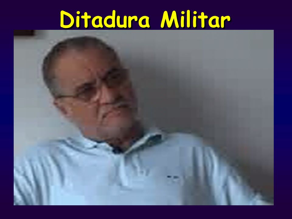Ditadura Militar Divisão do Direito