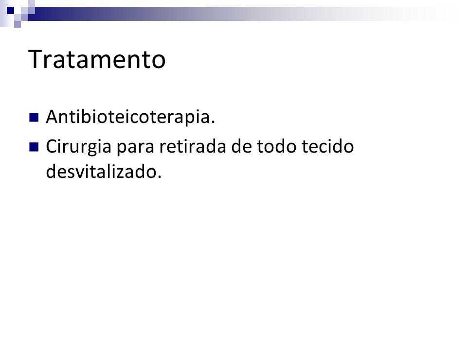 Tratamento Antibioteicoterapia.