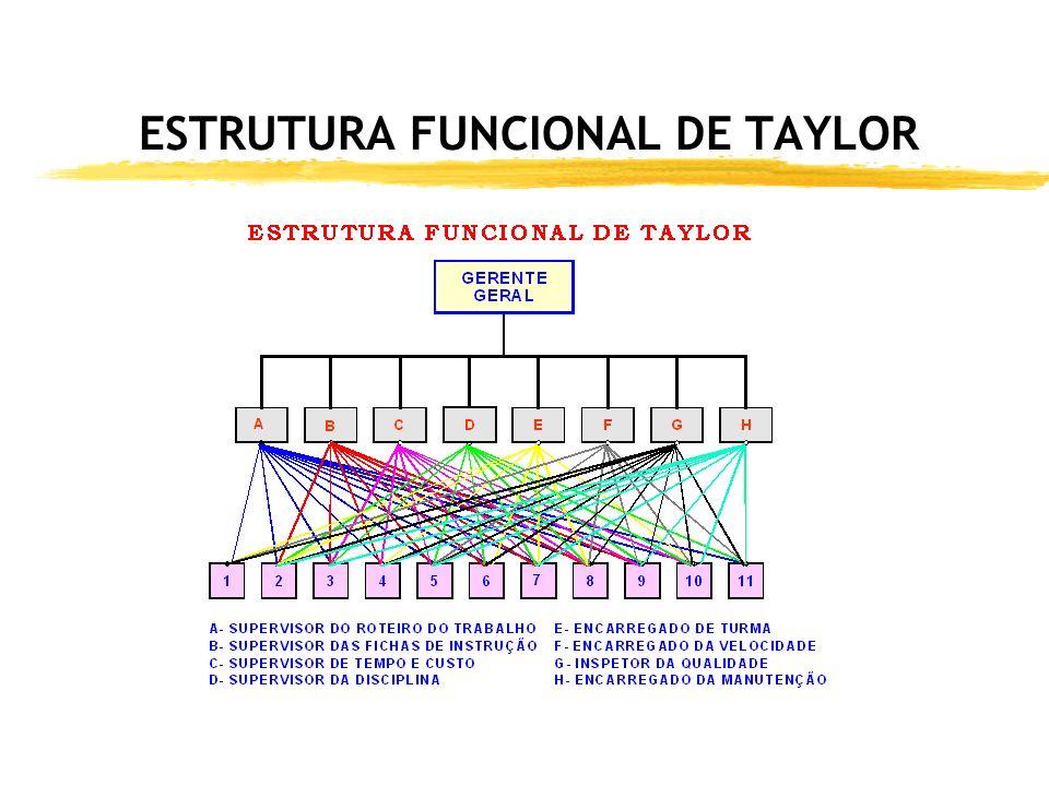 ESTRUTURA FUNCIONAL DE TAYLOR