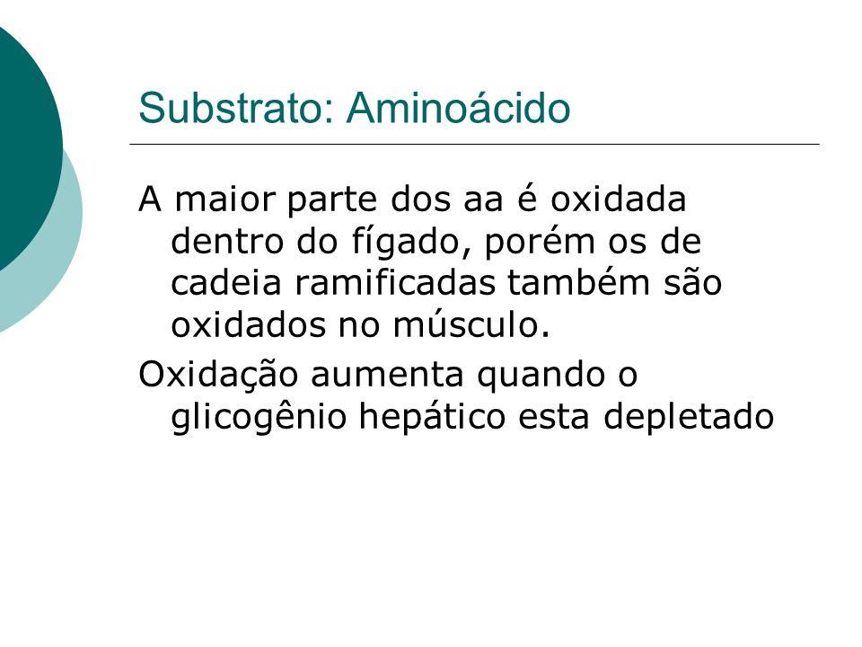 Substrato: Aminoácido