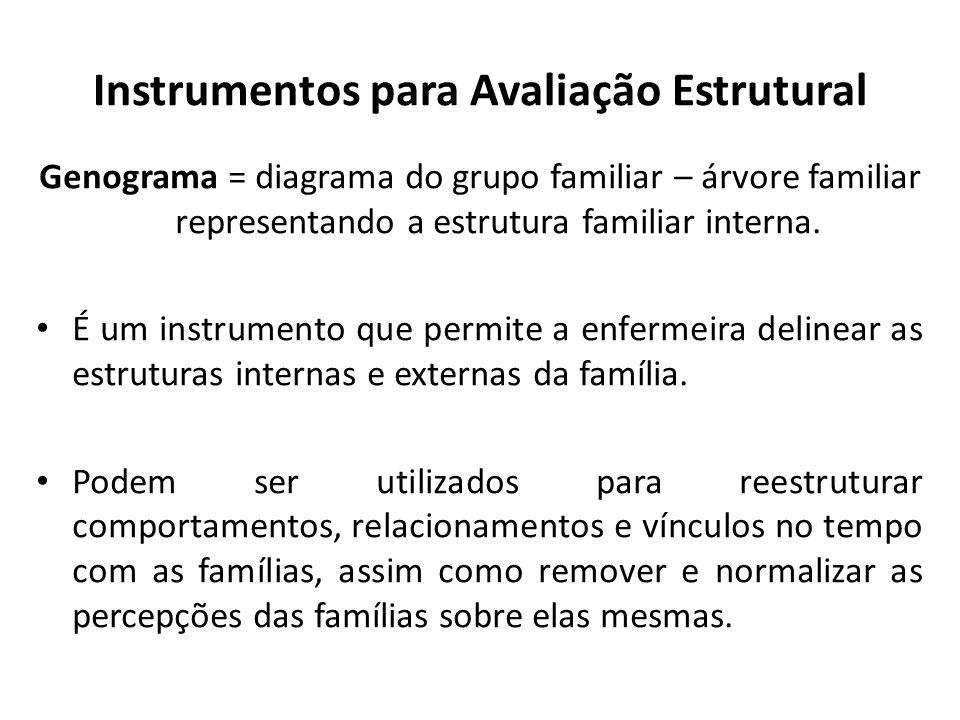 Instrumentos para Avaliação Estrutural