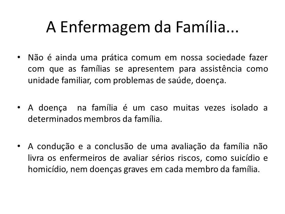 A Enfermagem da Família...