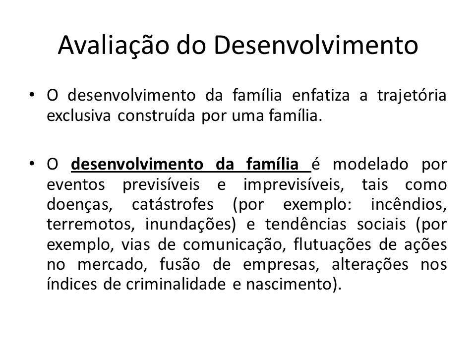 Avaliação do Desenvolvimento