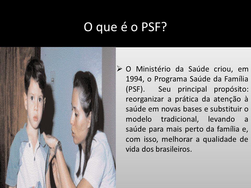 O que é o PSF