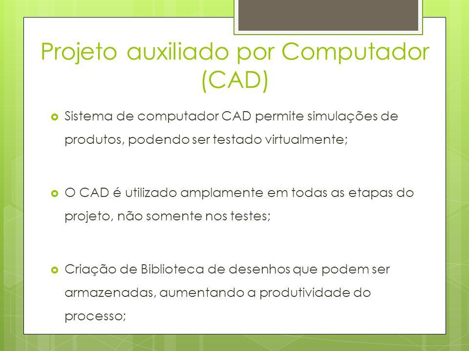 Projeto auxiliado por Computador (CAD)