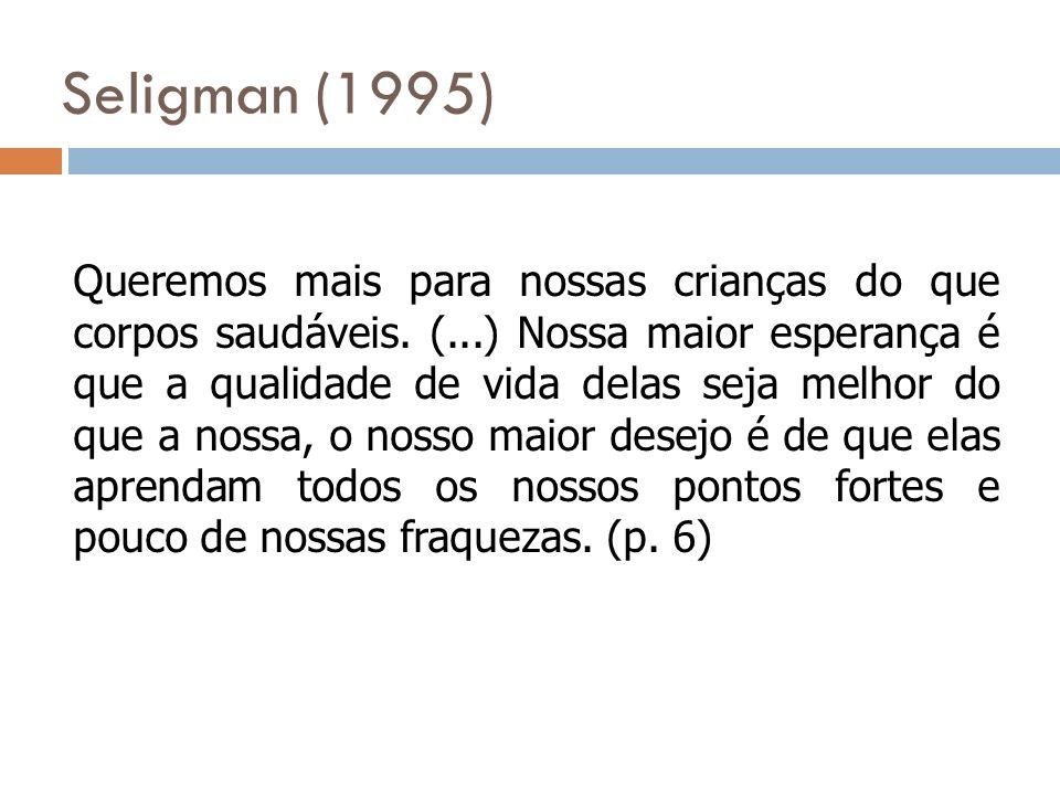 Seligman (1995)