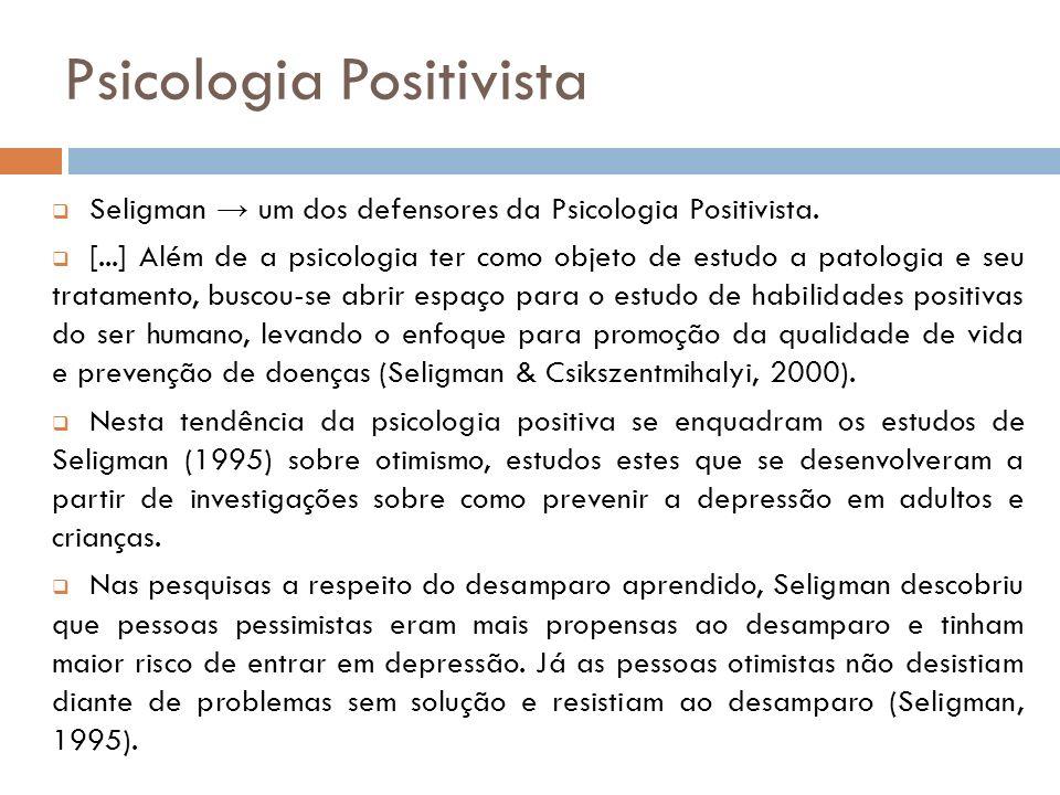 Psicologia Positivista