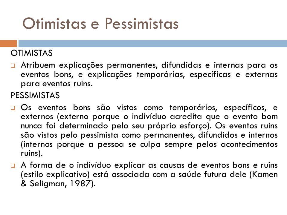 Otimistas e Pessimistas