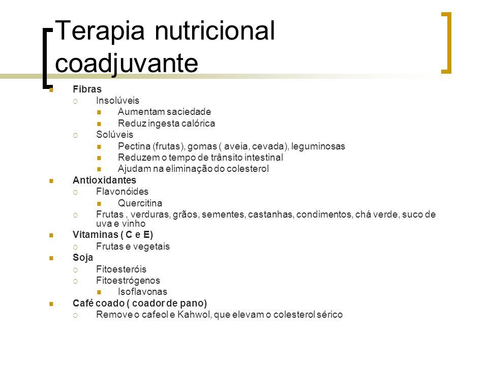 Terapia nutricional coadjuvante