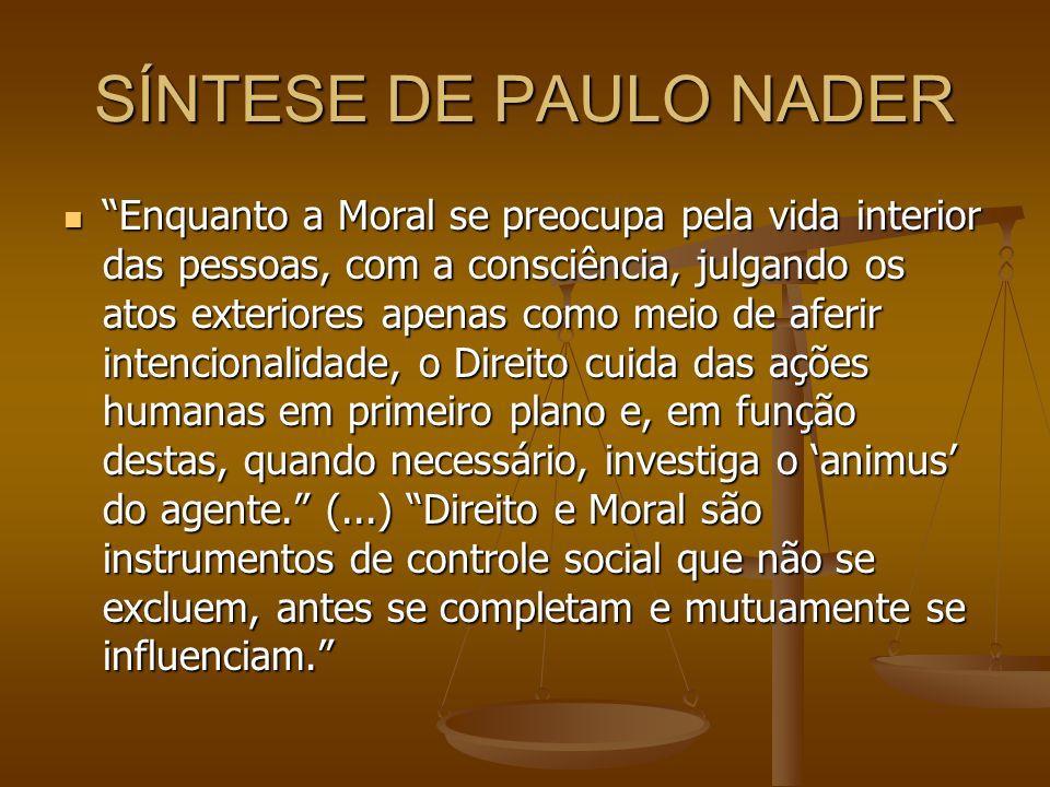 SÍNTESE DE PAULO NADER