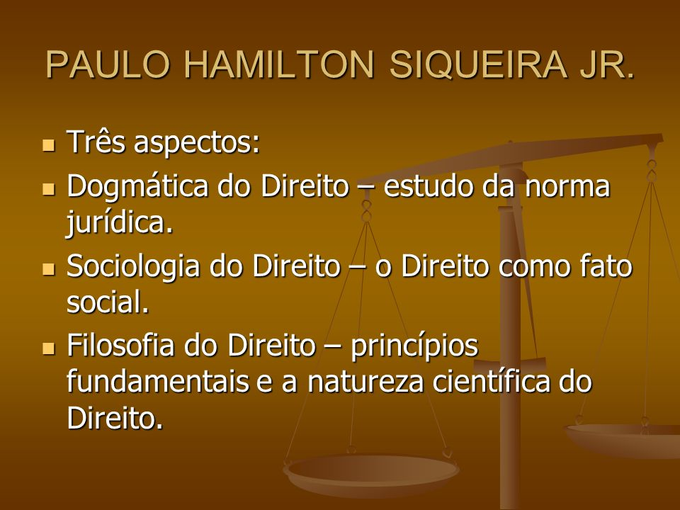 PAULO HAMILTON SIQUEIRA JR.